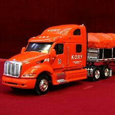 RARE - KORY FARM EQUIPMENT Peterbilt 387 Covered Wagon 30423 - 1/64 DCP NEW