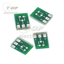 10pcs New Double-Side SMD SOT23-3 to DIP SIP3 Adapter PCB Board DIY Converter