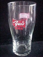 """OLD EDITION - 1 x  Singapore drinking glass - Yeo's """" Cola Shape""""   (CA- #14)"""