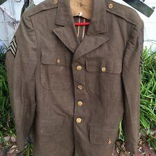 WWII U.S. Army Air Force NCO Uniform