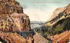 1909 Yellowstone Nat'l Park - Golden Gate -  Antique POSTCARD