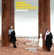 SONATAS: ENESCU, PROKOFIEV, SHOSTAKOVICH (NEW CD)