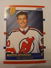 1990-91 Score American #439 Martin Brodeur RC New Jersey Devils - NM/MINT