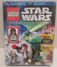Brand NEW LEGO Star Wars The Padawan Menace  DVD Blue Ray Digital FREE SHIPPING