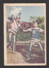 Ivanhoe Roger Moore 1958 TV Series Scarce Card Look! from Germany F