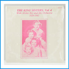 The King Sisters with Alvino Rey 1939-1941 Vol.4 New Record AJAZZ 521