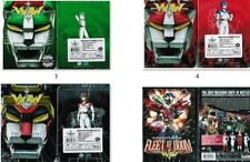 Lot of 3 Voltron Tin case DVD Box Sets Vol 3 4 5 + Movie Fleet of Doom All New
