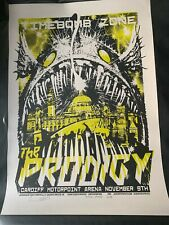 The Prodigy - No Tourists Jacknife Tour Poster - Cardiff (AP!) - Rare, Limited!