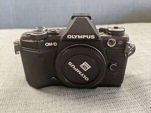 Olympus OM-D E-M5 Mark II 16.1MP Digital Camera - Black (Body Only)