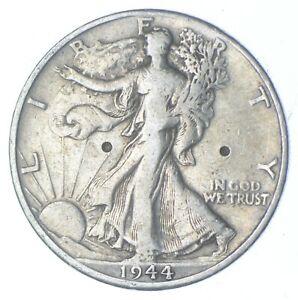 1944-D Walking Liberty 90% Silver US Half Dollar *767
