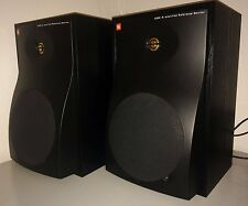 "2x USA aktiv JBL Reference 8"" Monitor 6208 Bi-Amplified Pro Speakers NO LSR"