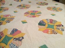 New listing Antique Cotton Vintage Quilt