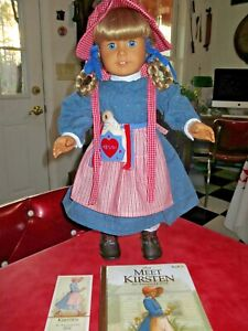 Pleasant Company American Girl Kirsten Doll Clean Well Cared For Condition
