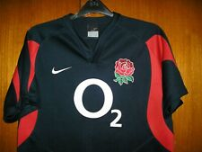 England Rugby Union Football Shirt Jersey Nike Navy blue size M 39/41
