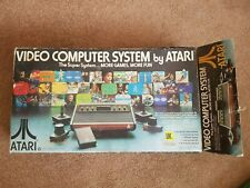 Atari 2600 Game System Complete + 2 games