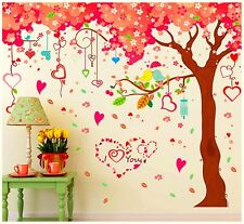 Large Nursery Tree Wall Stickers Cherry blossom Flowers Photo Family Tree Decals