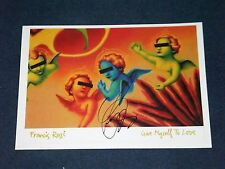 FRANCIS ROSSI STATUS QUO SIGNED POSTER
