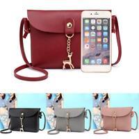 Women's Shoulder Bag PU Leather Messenger Crossbody Tote Handbags Purse Satchel