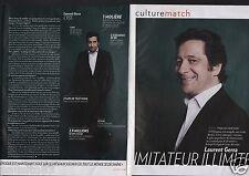 Coupure de presse Clipping 2005 Laurent Gerra  (3 pages)