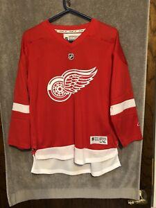 Vintage Reebok CCM Detroit Red Wings NHL Hockey Jersey Youth L/XL