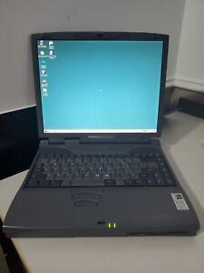 Vintage Windows 98 Laptop, Toshiba Satellite  Pro 4300 Celeron, 128MB 10GB WORKS