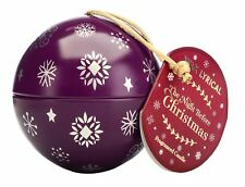 Wax Lyrical Wax Filled Christmas Tree Bauble Candle Gold Frankincense & Myrrh