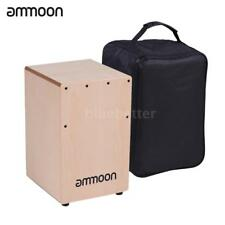 Cajon Box Drum Percussion Instrument Birch Wood with Adjustable Strings R1O5