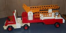 VINTAGE 1978 FISHER PRICE HOOK & LADDER FIRE SEMI TRUCK