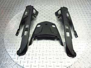 2012 10-16 BMW K1600GTL K1600 OEM Rear Tail Fairing Cowl Piece Lot Trim Set