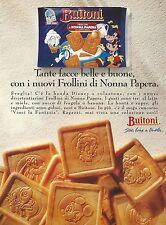 X2673 Frollini di Nonna Papera - BUITONI - Pubblicità 1993 - Advertising