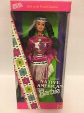 Vtg Barbie Doll 1994 Special Third Edition American Indian Native American Nib
