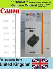 Genuine ORIGINALE SONY BC-TRX Caricabatterie per x N G D T R K Tipo batteria NP-BX1 RX100
