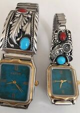 Native American Sterling Silver Watches  Women Gift