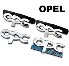 Opel OPC Emblem Schriftzug Badge Corsa Astra Zafira Insignia Vectra Adam