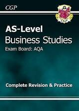 AS-Level Business Studies AQA Complete Revision & Practice by CGP Books (Paperba