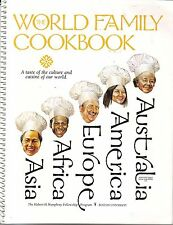The World Family Cookbook Hubert H Humphrey Fellowship Boston University 1999