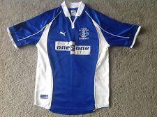 Everton Football Shirt Adulto XXS Calcio Camicia camesita KIT PUMA 02/04