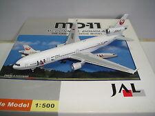"""StarJets Japan Airlines JAL MD-11 """"1990s color - Rock Ptarmigan"""" 1:500"""
