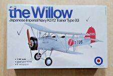 56-8510 ENTEX 1/48th Scale YOKOSUKA K5Y2 WILLOW Plastic Model Kit STARTED