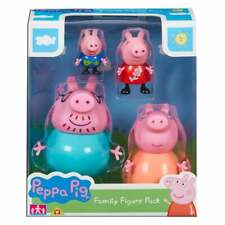 Peppa Pig Family Figure Pack - inc Mummy Daddy George and Peppa Figures