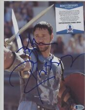 """Russell Crowe """" Gladiator """" Signed 8x10 Photo Auto Autograph Bas Bgs Coa"""