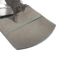 New Double-Layer Cat Litter Box Mat Trapper Foldable EVA Pad Pet Foam Rubber Rug