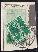 Schweiz II Bfst. Pro Juventute Vorläufer französische Inschrift, gepr. Marchand