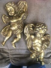 Angel Plaques (set Of 2)