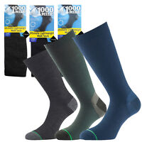 1000 Mile Lightweight Double Layer Blister Free Tactel Hiking Walking Mens Socks