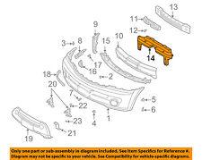 KIA OEM 03-09 Sorento Front Bumper-Seal 865853E000