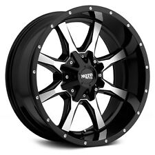 "18"" Moto Metal MO970 Black Wheels Rims 6x5.5 6x135 Chevy GMC Ford 6 Lug"