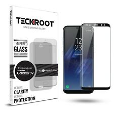 For Samsung Galaxy S9/S9 Plus Full Cover Temper Glass Screen Protector Clear HD