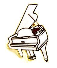 Pin Spilla Pianoforte A Coda cm 2,5 x 1,8 - (AIM PGHPA USA) - (Cod. M129)