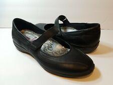 ecco Black Women's Mary Jane Slip Ons - Size 39